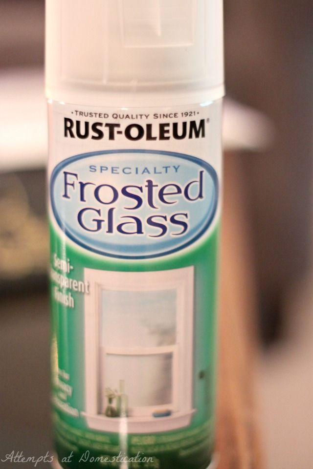 Frosted Glass Spray Paint Ideas Part - 26: Rustoleum Frosted Glass Spray Paint - This Is What You Need To Spray On The  Skylight