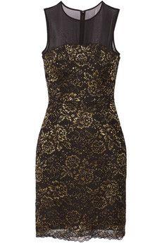 Diane von Furstenberg Nisha lace mini dress | THE OUTNET