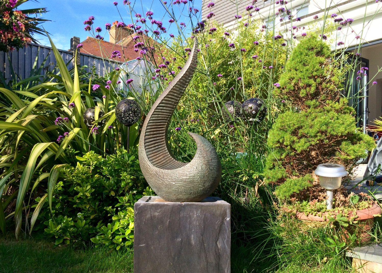 Garden sculpture, Abstract sculpture, Bronze, Garden ornament, Limited Edition, Kara Sanches