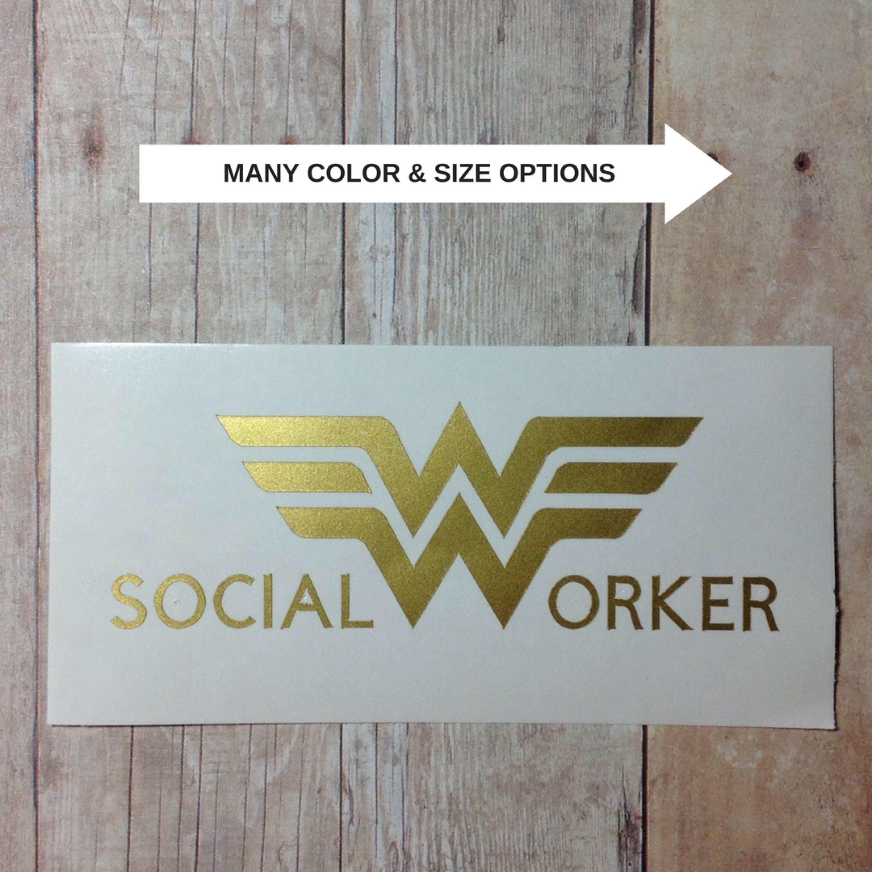 Social Worker Vinyl Decal Sticker For Hydro Flask For Yeti Etsy Social Worker Vinyl Decal Stickers Vinyl [ 3000 x 3000 Pixel ]