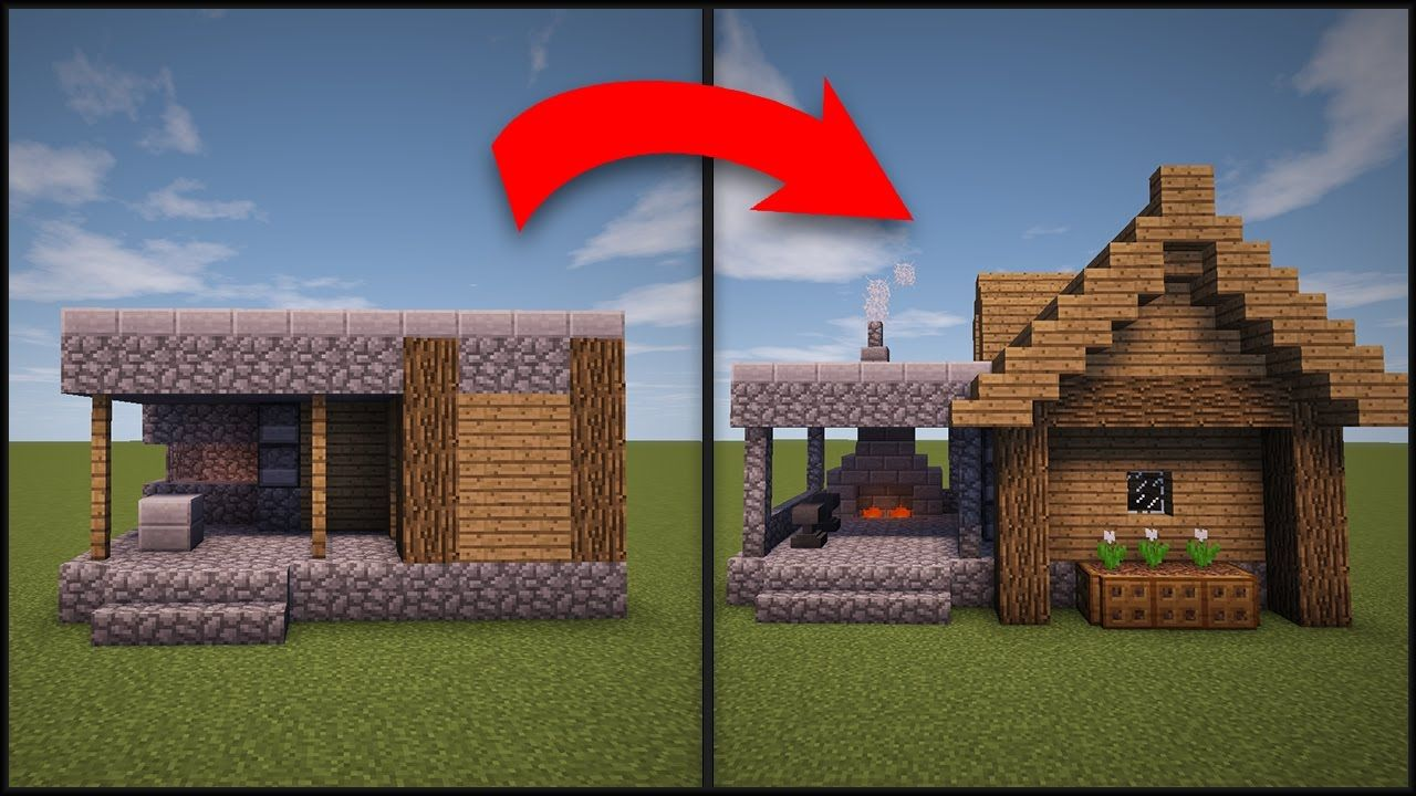 Minecraft how to remodel a village blacksmith minecraft for How to redesign your house