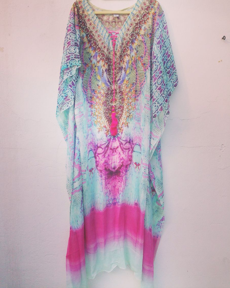 8629666167bd4 Beautiful new sunset beach kaftan from Luxe Isle. Only 2 available. Free  shipping!