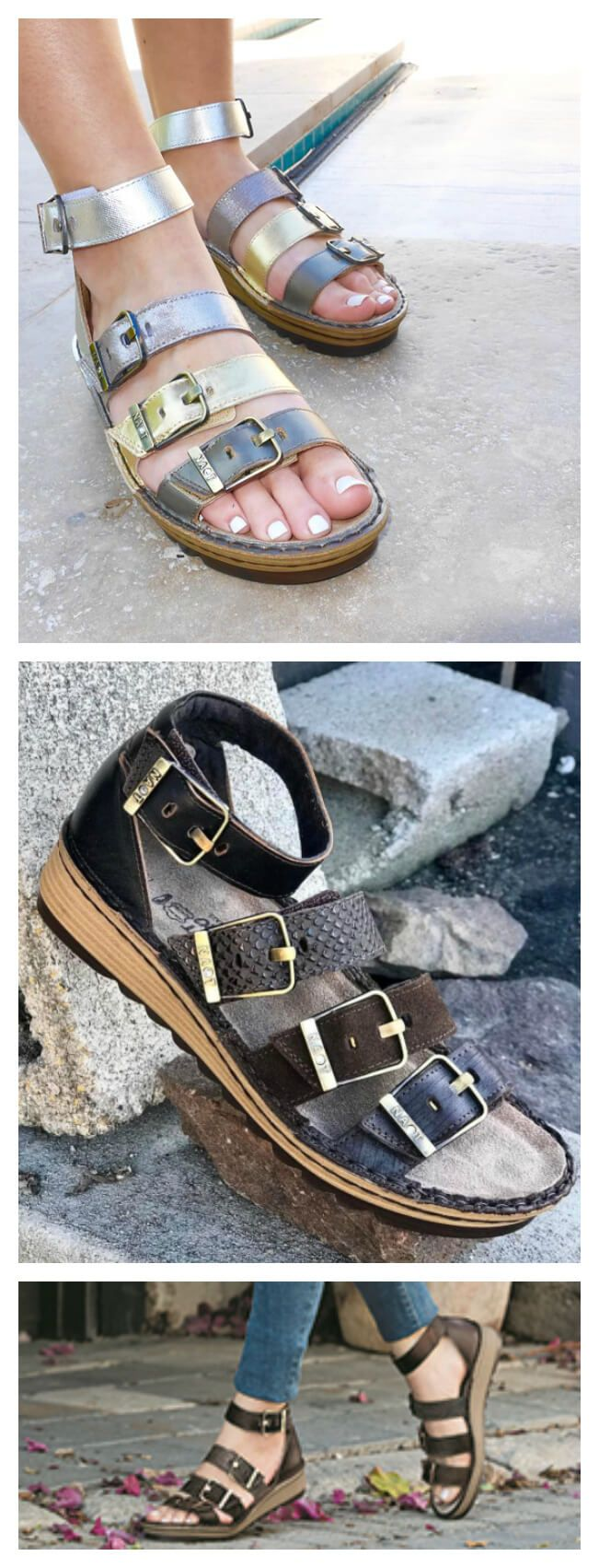 5 Stylish Orthotic Friendly Sandals