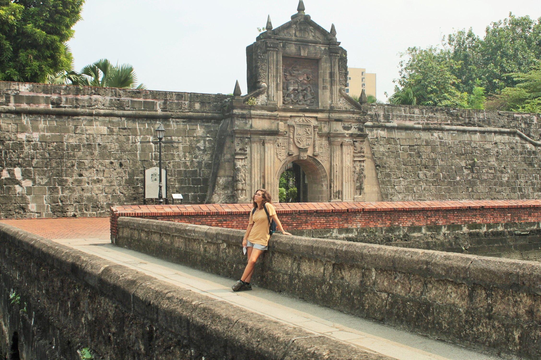 Entrada al Fuerte Santiago