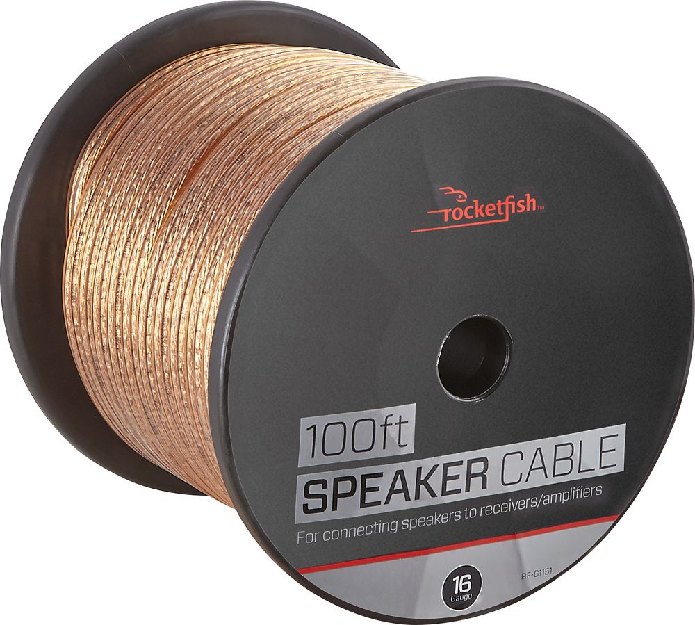 Rocketfishâue u speaker wire awg gold wire gold and