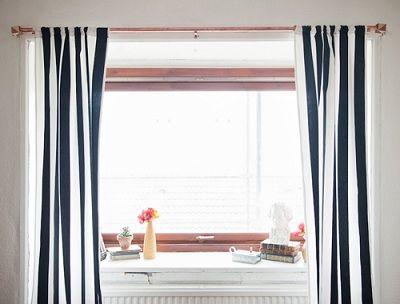 Hacer un barral para cortinas