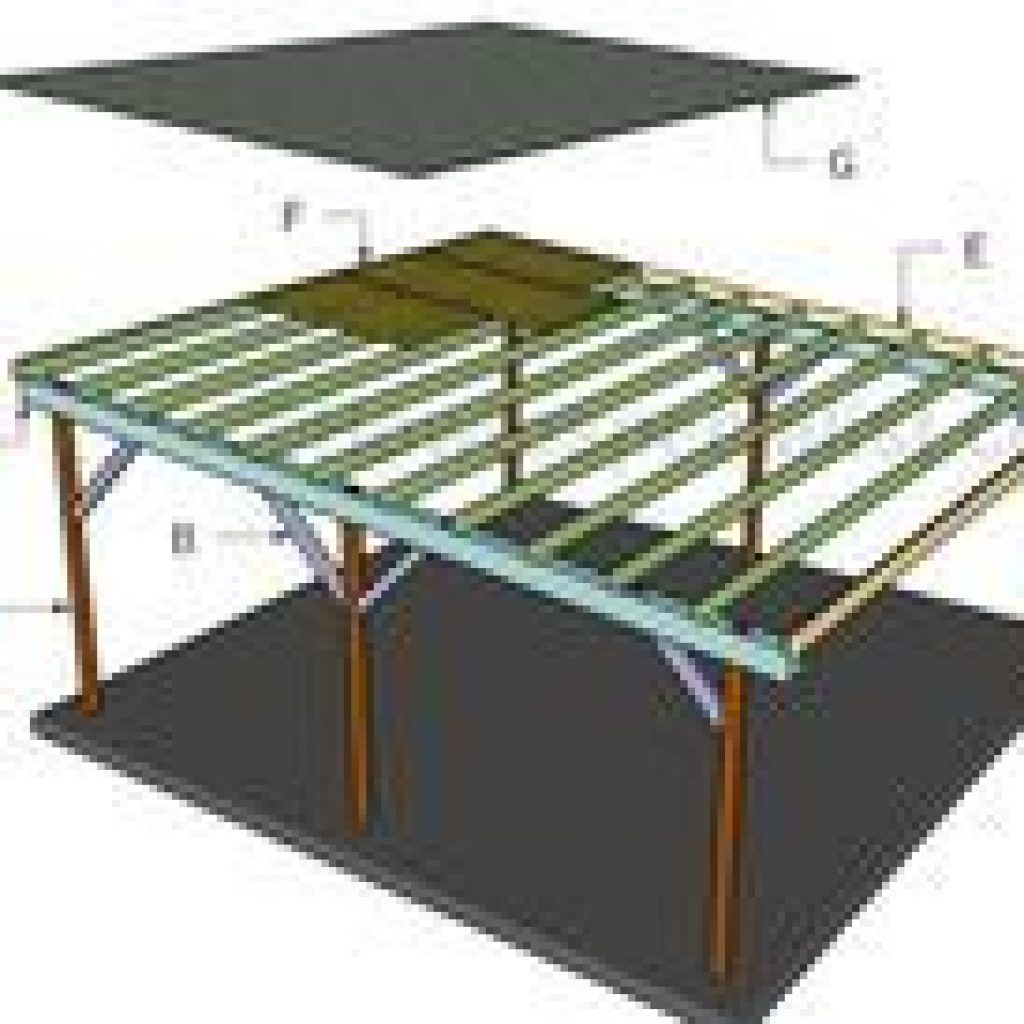 Diy Carport Roof Flat Roof Double Carport Plans Double Carport Carport 12 24 Lean To Carport Roof Plans Myoutdoorplans Diy Carport Carport Building A Carport