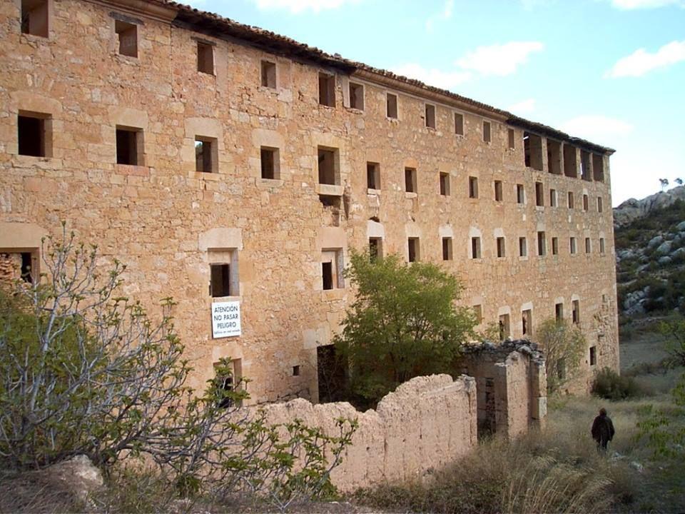 Convento del Desierto de Calanda. Fotografía de Anjolm, 2008, publicada originalmente en Panoramio (servicio de Google desaparecido)