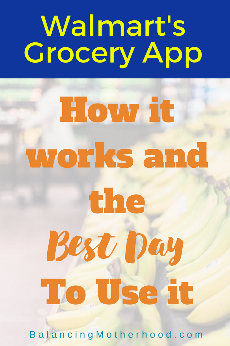 FAQ about Walmart's Grocery App common questions