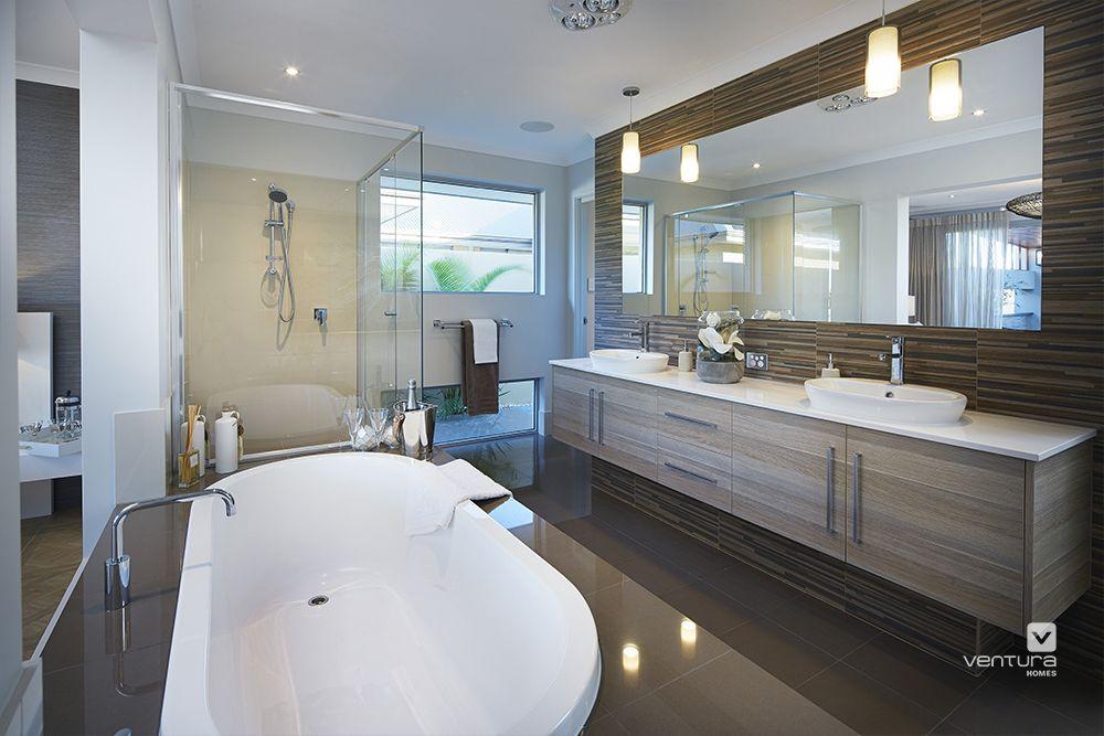 Master Bedroom Ensuite Designs Stunning Ensuite Design In 'the Sanctuary' Display Home#venturahomes Design Inspiration