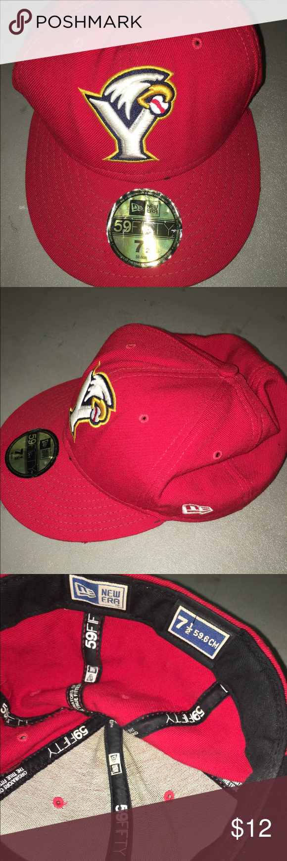9669ecfc3ee Vintage Minor League Baseball Hat Throwback York Revolution Minor League  Baseball Hat. Size 7 1 2. Still has the original stickers on it. Very cool  hat. New ...