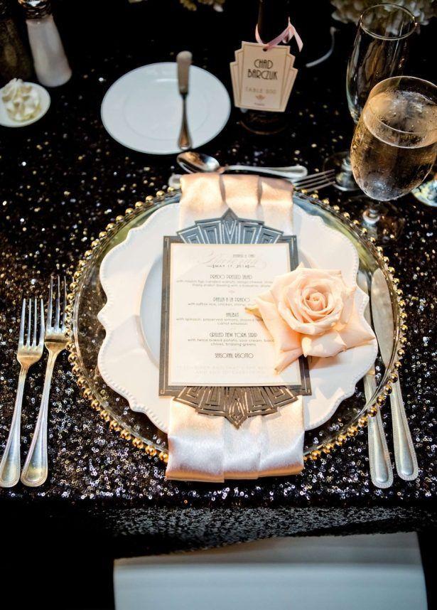 Glitz And Glam Wedding Ideas Nye 024 Whimsque Designer