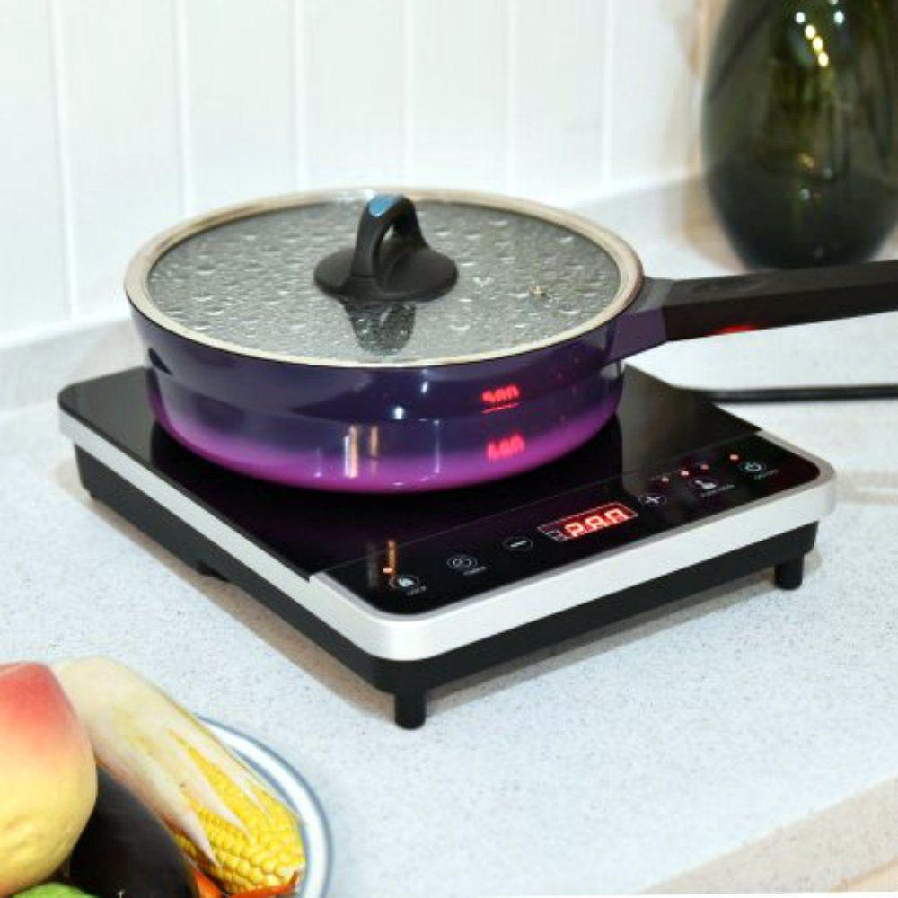 Electric Induction Cooker Single Burner Digital Hot Plate Cooktop