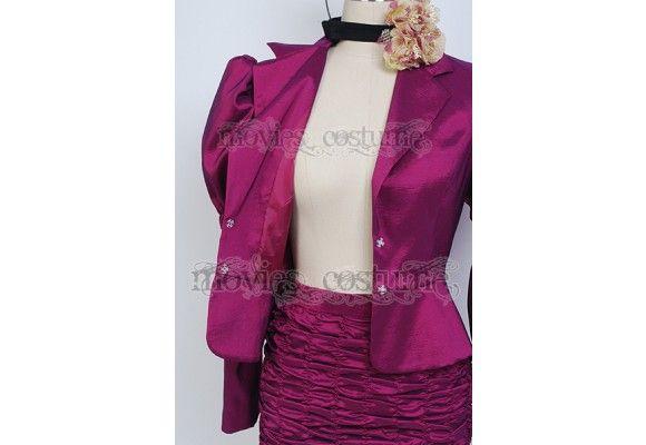 Effie Trinket Dress costume for The Hunger Games Cosplay
