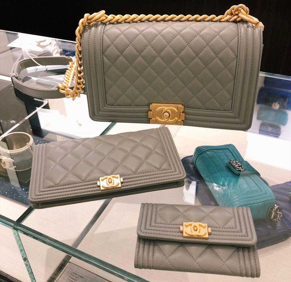 336eae589c9 Review + Sizes  Saint Laurent Wallet on Chain + Chanel Boy Bag ...