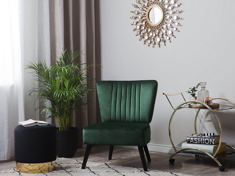 Fotel Welur Zielony Vaasa Salon W 2019 Meble Style