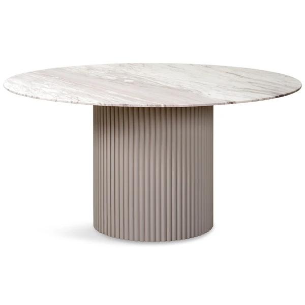 Ubud Round Dining Table In 2020 Round Marble Dining Table
