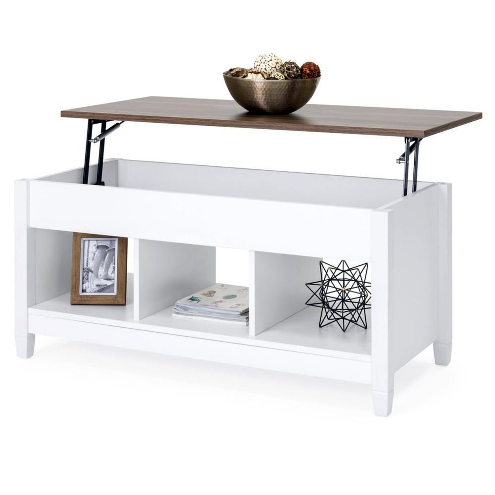 Modern Coffee Table Center Lift Top Hidden Compartment Storage Shelves Furniture Home Coffee Table Coffee Table With Hidden Storage Wood Lift Top Coffee Table [ 1000 x 1000 Pixel ]