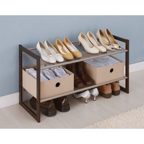 Neu Home 2 Tier Extra Wide Shoe Rack You Can Find Out More