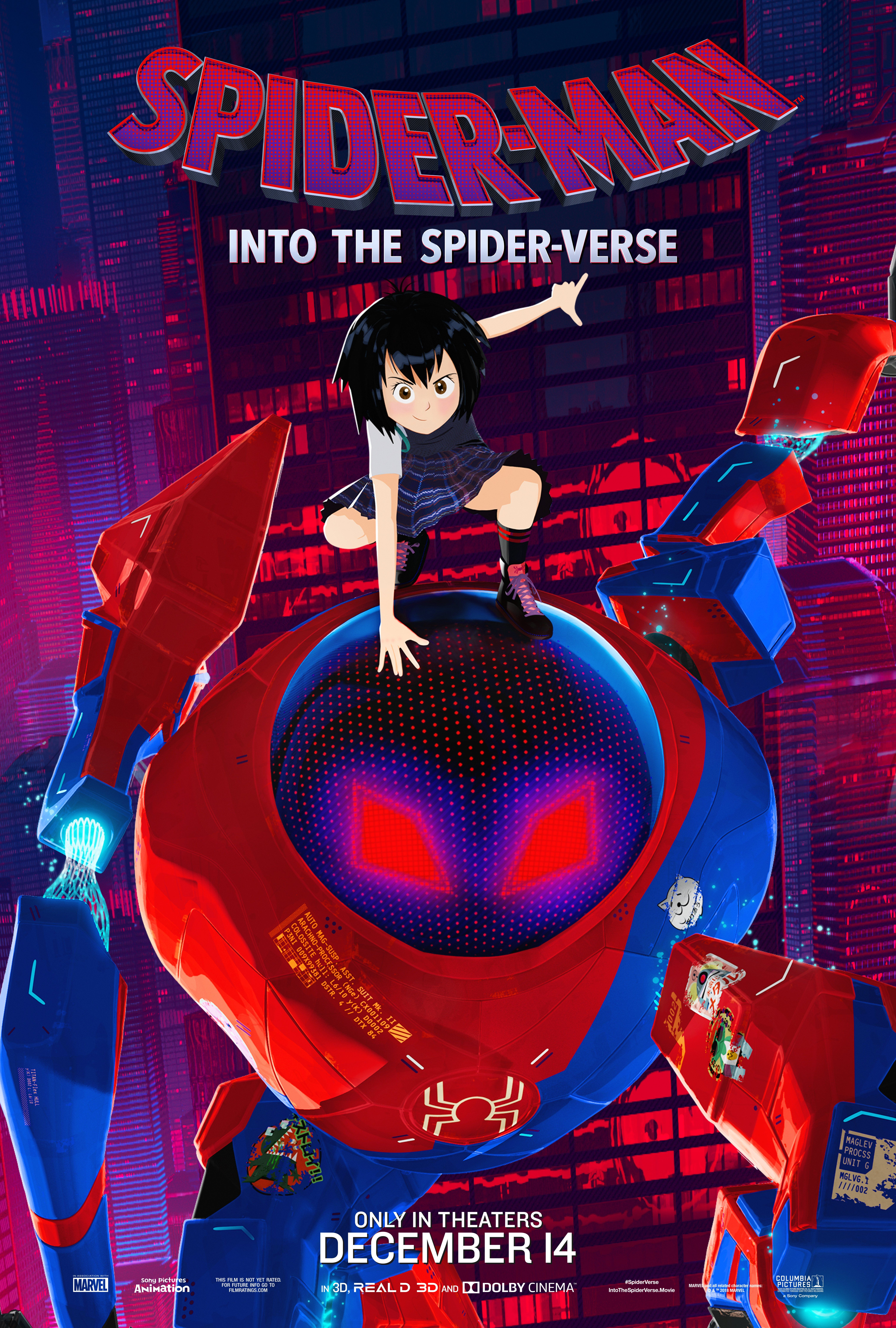 SPIDERMAN INTO THE SPIDERVERSE Character Posters