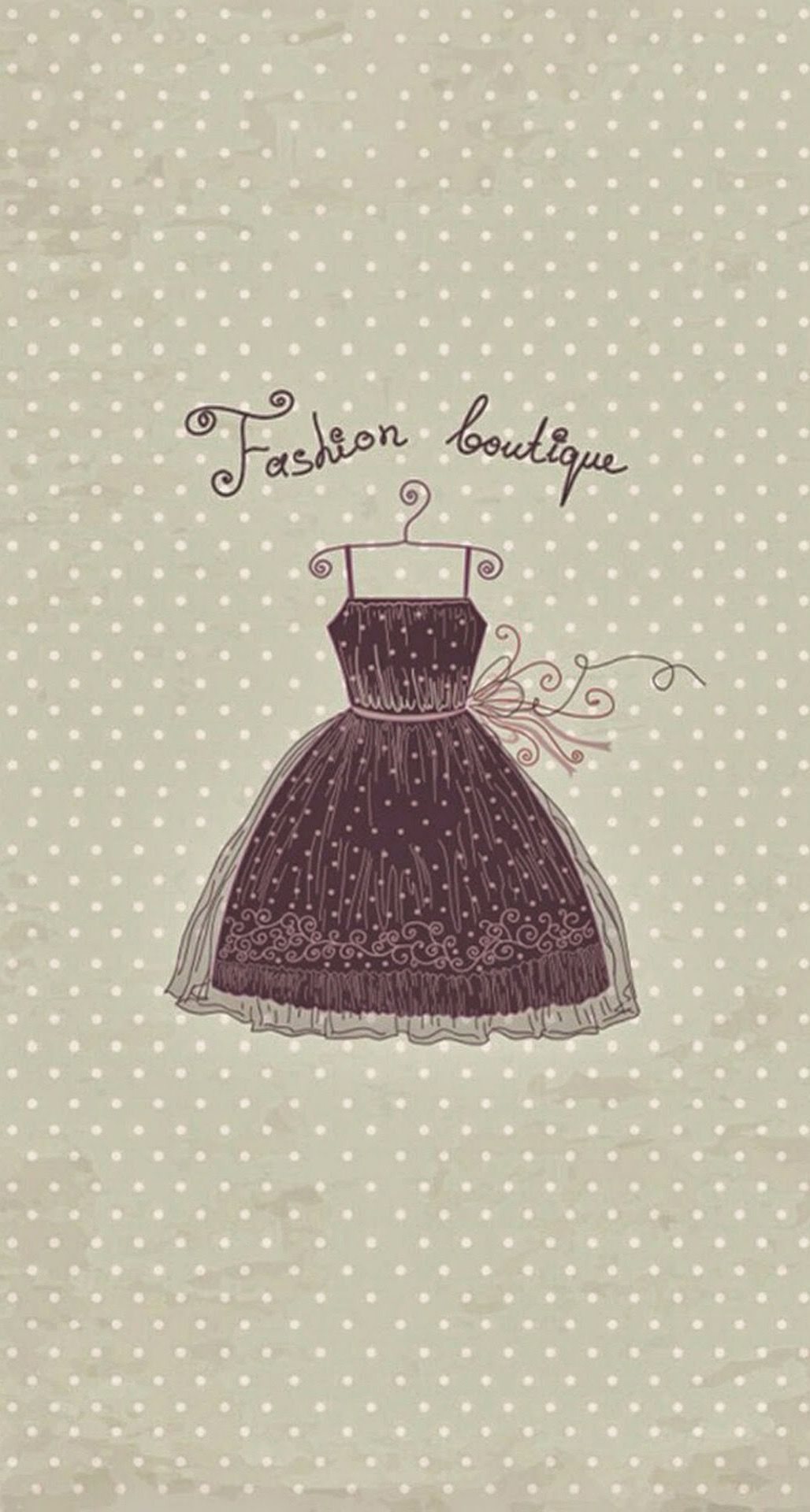 Fashion Boutique Vintage Dress iPhone 6 Plus HD Wallpaper