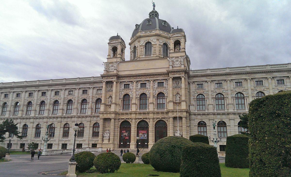 Naturhistorisches Museum in Wien - Außenansicht.