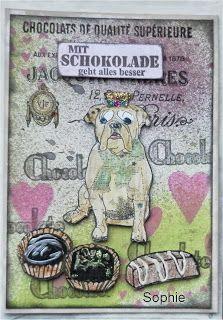 Sophie's Art: und nochmal Schokolade...