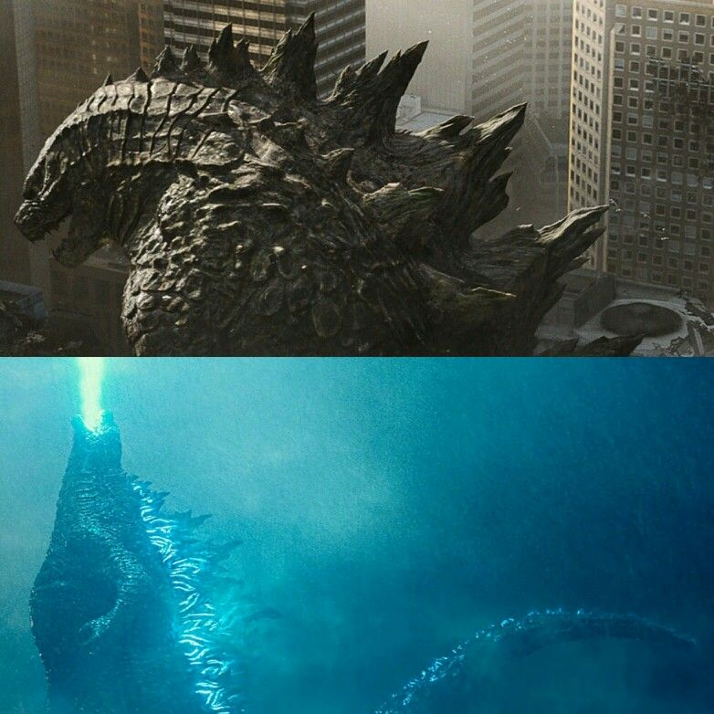 Godzill 2019: Godzilla Designs (2014 And 2019) In The MonsterVerse (2014