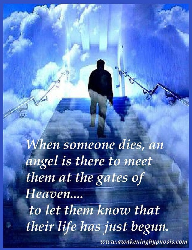 Sayings when someone passes away