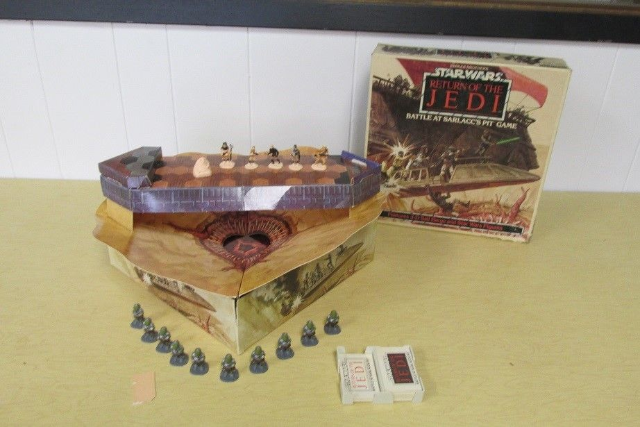 1983 Parker Brothers Star Wars Return of the Jedi Battle At