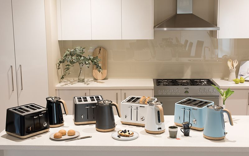 The New Collection Of Scandi Aspect Toasters Amp Kettles