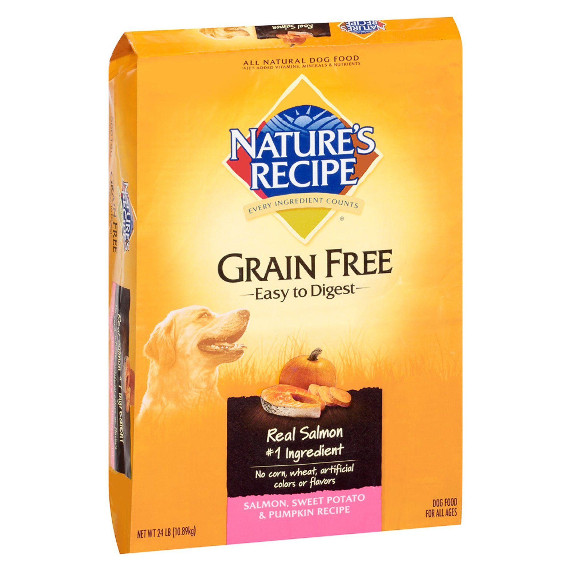 Nature S Recipe Grain Free Salmon Sweet Potato Pumpkin Dry Dog