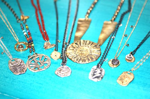 Not just the jewelry is #sustainable: this designer's workshop is made from #recycled materials, too! #gogreen