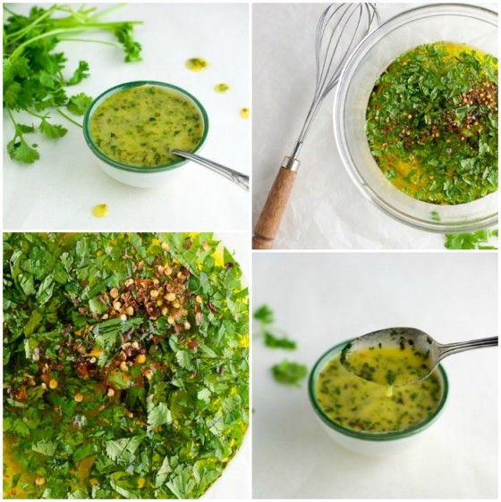 Honey Lime Cilantro Sauce ~ The Kitchen Snob