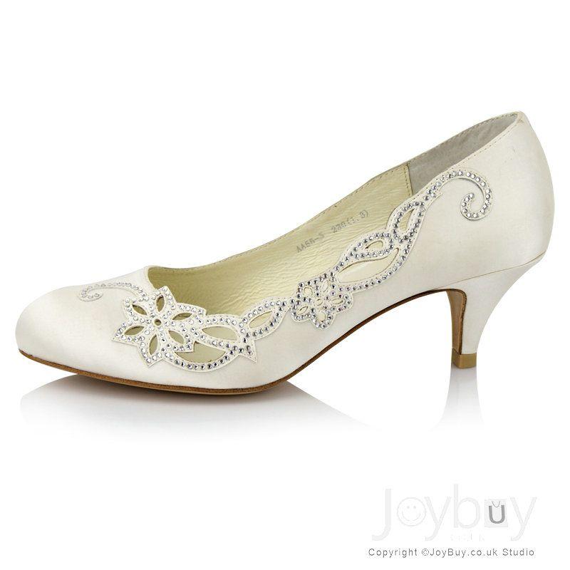 Bridal Shoes Low Heel: Pin By Pamela Drake On Wedding Shoes