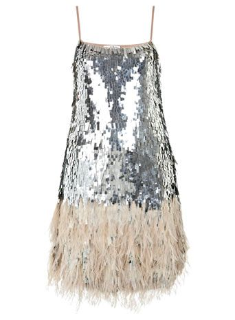 Feather Sequin Dress - View All - Dresses - Dresses - Clothing ...