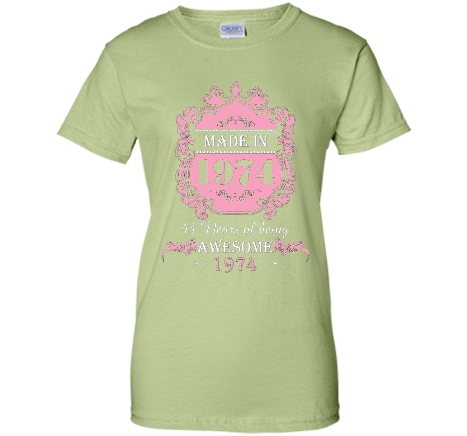 Made In 1974 T Shirt 43 Years Old 43th Birthday Gift