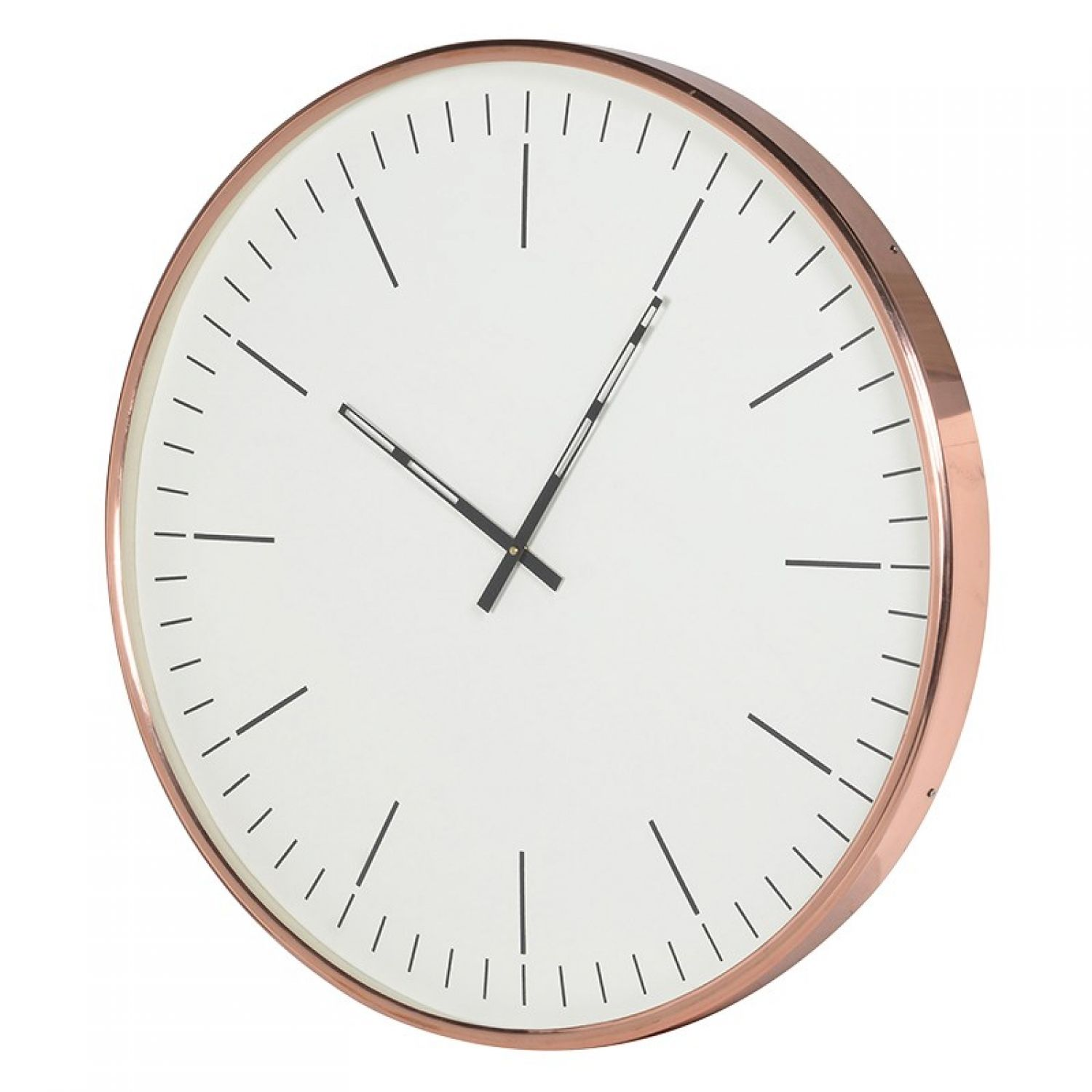Klein copper wall clock homeware 2017 pinterest copper wall for a simplistic wall clock thats all about style look no further than the klein copper wall clock the clocks face is monochrome and minimalist amipublicfo Images