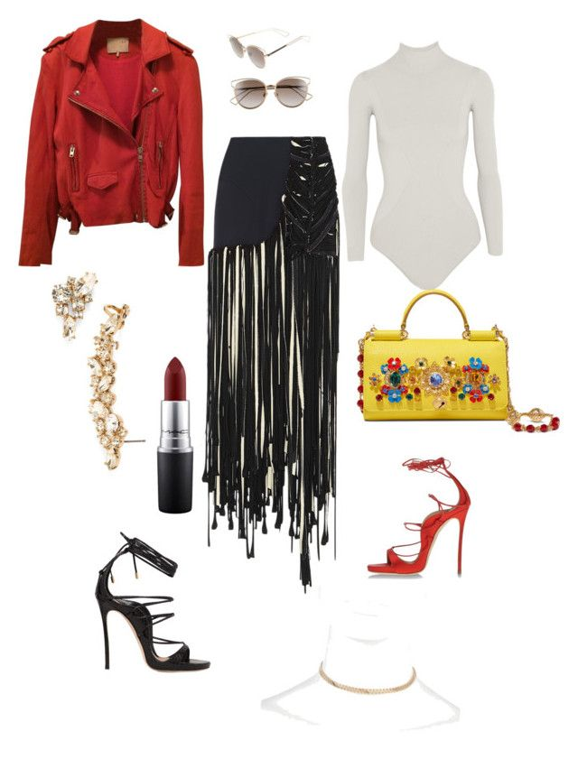 """""""CityChic"""" by chloemiing on Polyvore featuring Dolce&Gabbana, Esteban Cortazar, Body Editions, MAC Cosmetics, IRO, River Island, Dsquared2, Marchesa and Christian Dior"""