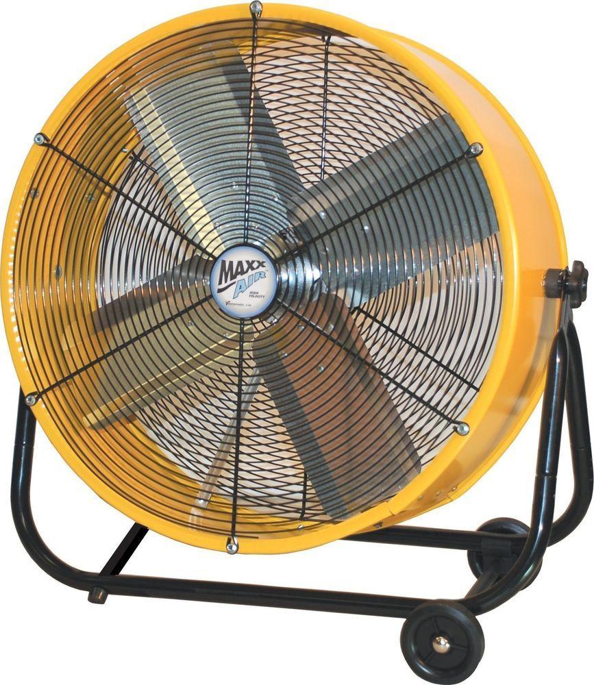 LUF2402A-BM Lakewood 24-Inch Industrial Grade Drum Fan