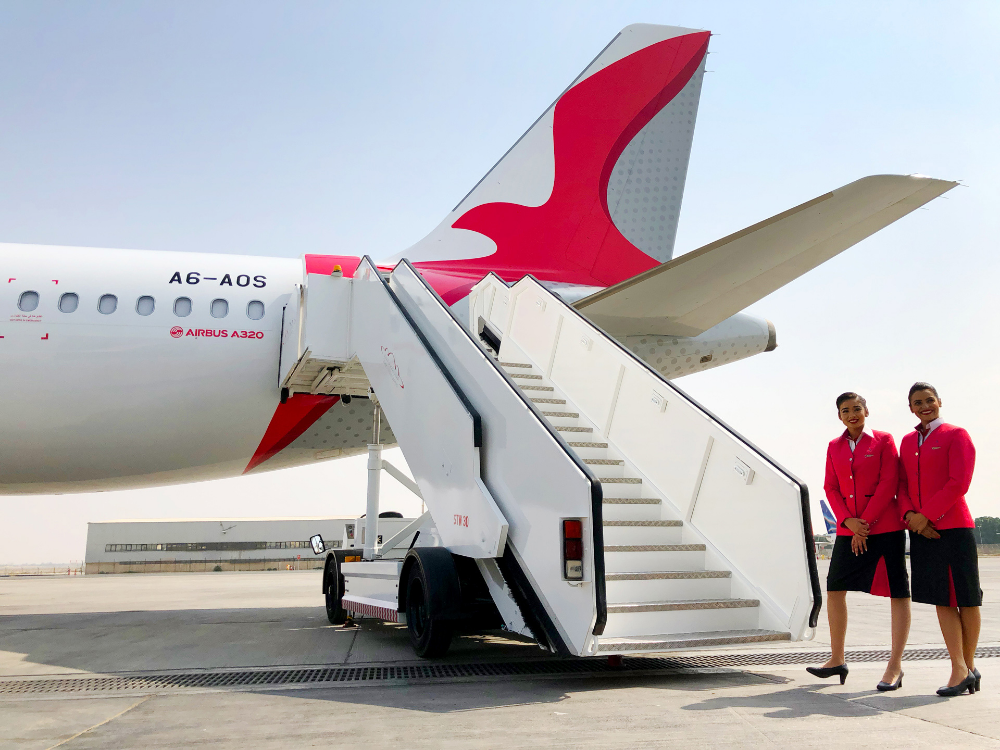Brand New New Logo, Identity, and Livery for Air Arabia