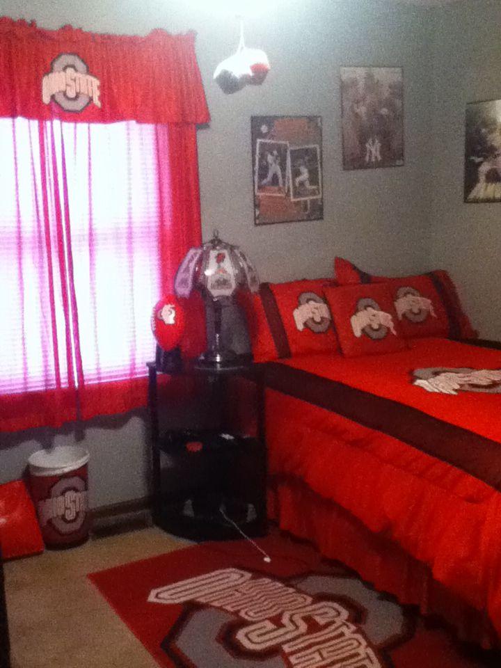 My Ohio State Bedroom Seth S Bedroom Ohio State Rooms