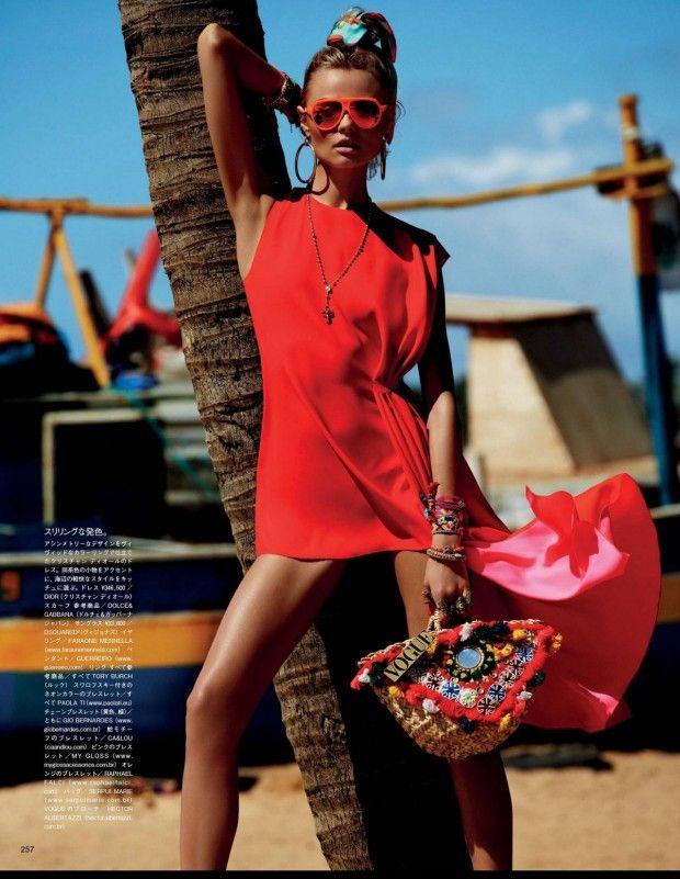 nice Vogue Japão | Editorial Moda Maio 2013 | Magdalena Frackowiak por Giampaolo Sgura
