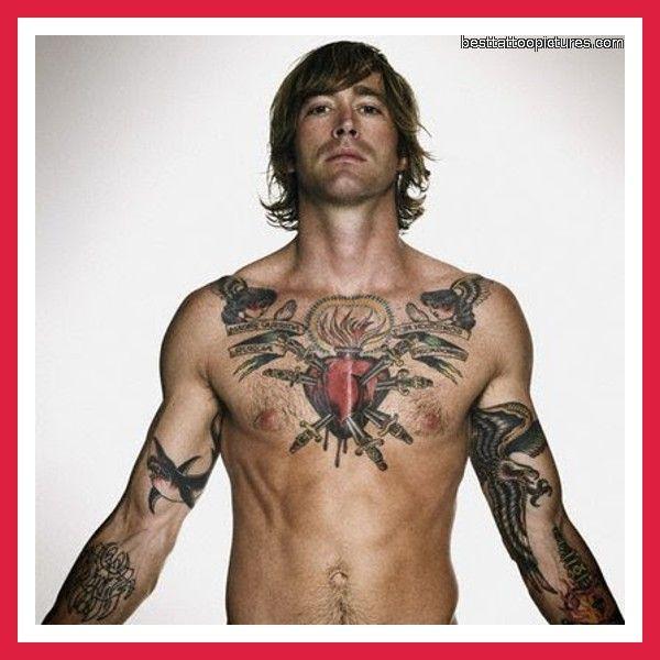 22 Chest Tattoo Designs Ideas: Chest-tattoo-designs-for-men