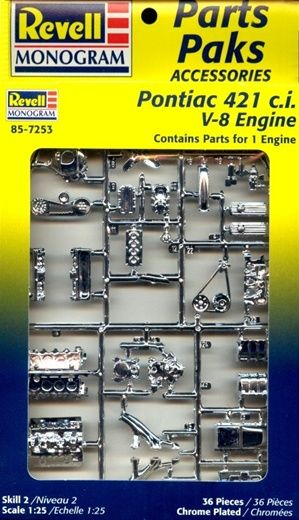 1960 S Pontiac 421 C I V 8 Engine 2 N 1 Stock Or Blown 1 25 Fs Plastic Model Kits Cars Model Cars Kits Car Model