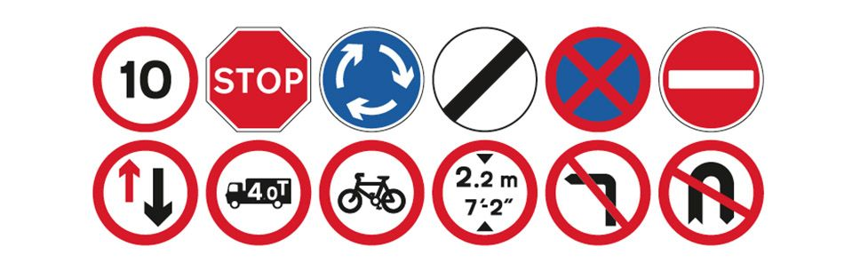 Image result for traffic signs banner images