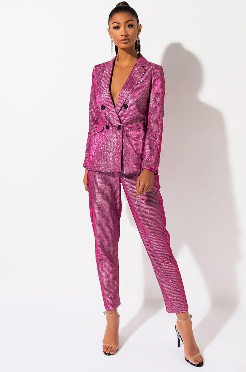 Sparkle Pant Suit
