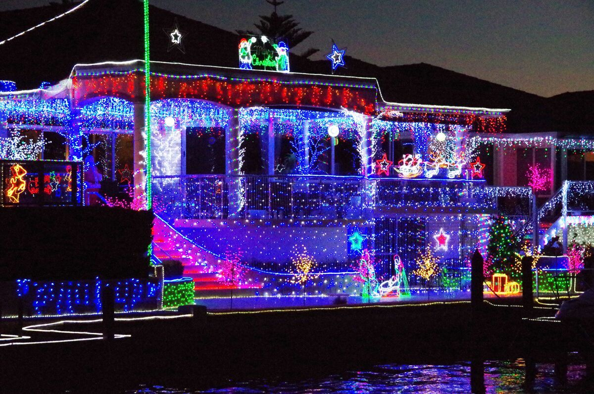 Mandurah Cruises Christmas Lights Cruise Cruise Christmas Lights Canals
