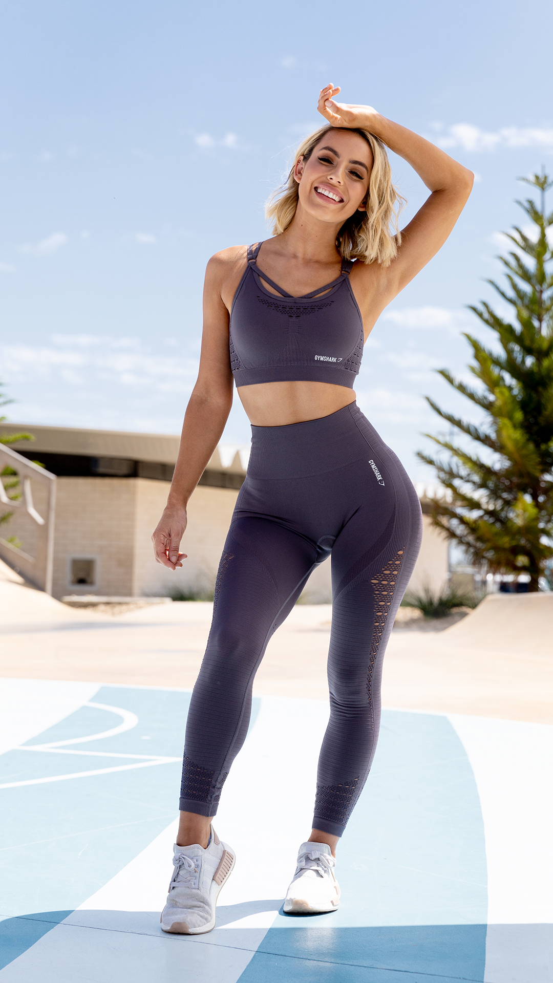 59ac5f0efb Gymshark Energy+ Seamless Leggings - Slate Lavender in 2019 ...