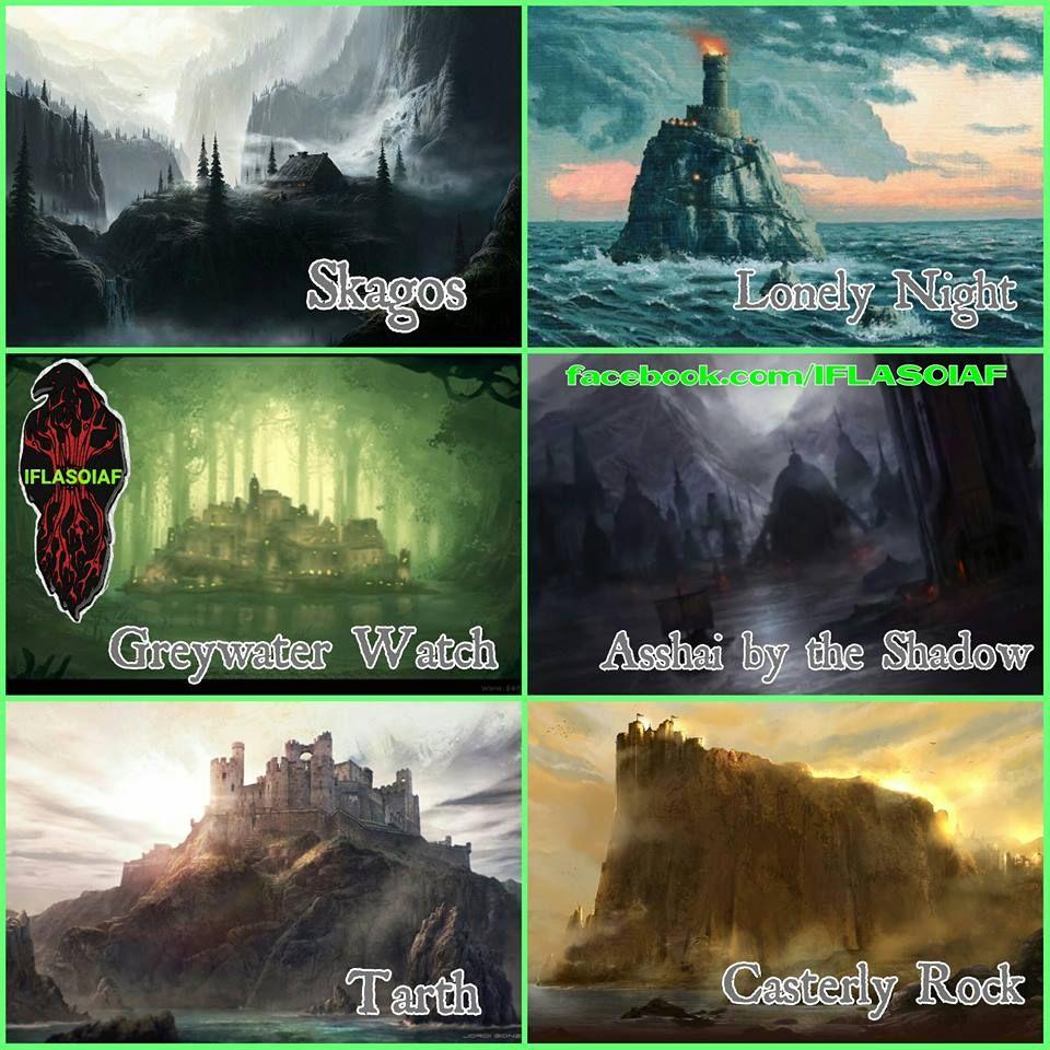 Gli Arcani Supremi (Vox clamantis in deserto - Gothian): Location di Games of Thrones